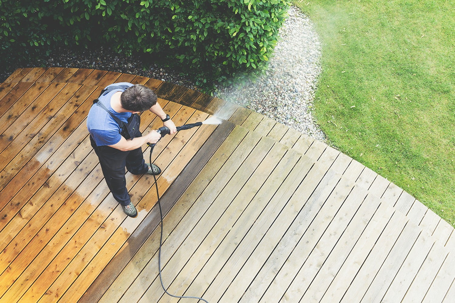 power and pressure washing