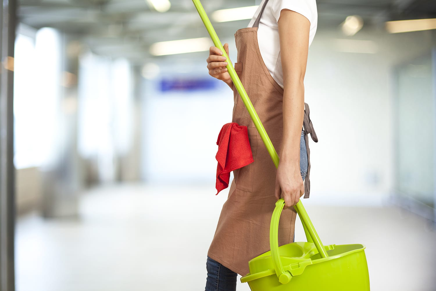 school cleaning service slc