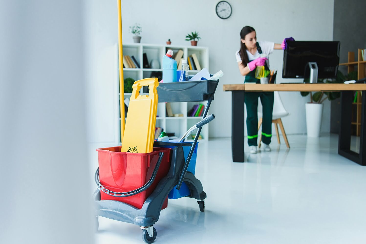 commercial cleaning in the Salt Lake Valley - Spanish Fork Janitors