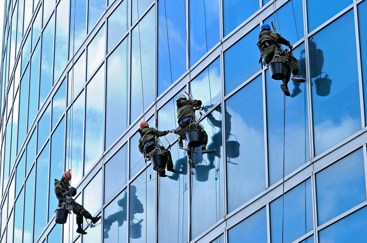 high-rise cleaning in SLC